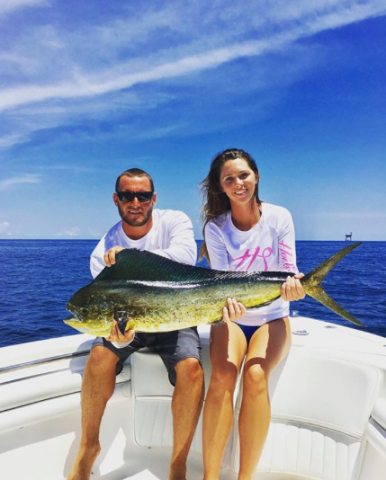 mens womens white mahi performance fishing shirts