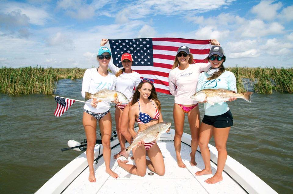 american flag fishing shirts