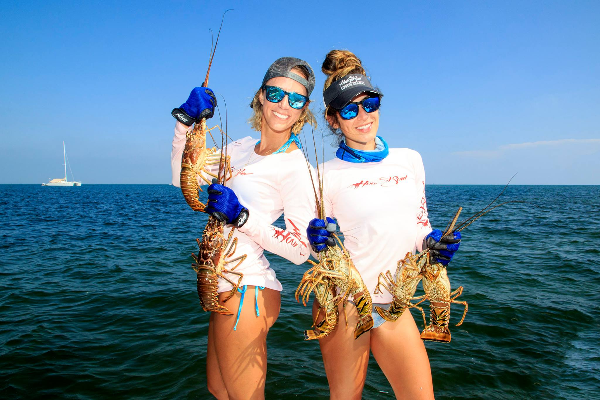 lobster diver down performance womens fishing shirts