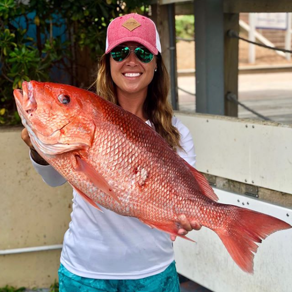 red snapper womens fishing hats
